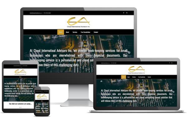 Cloud International Advisors Website by Gecko Websites
