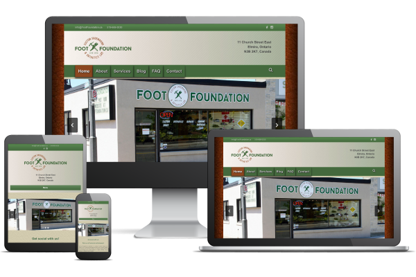 Foot Foundation - Website by Gecko Websites