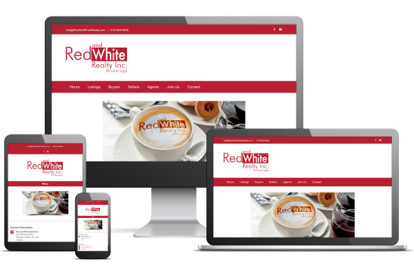 Red and White Realty - Website by Gecko Websites