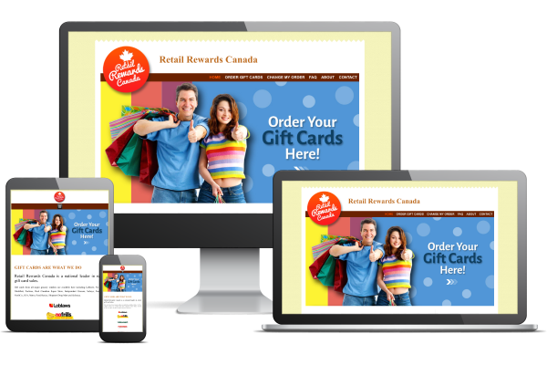 Retail Rewards Canada - Website by Gecko Websites